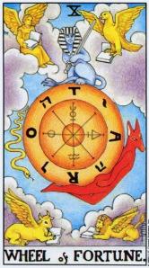 Wheel Of Fortune ไพ่กงล้อแห่งโชคชะตา