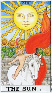 The Sun ไพ่พระอาทิตย์